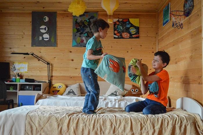 Patrové postele pro chlapce